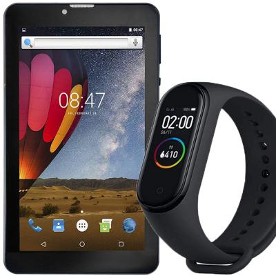 2 in 1 combo offer Heatz Z9910 4G Tablet and M4 Smart Bracelet
