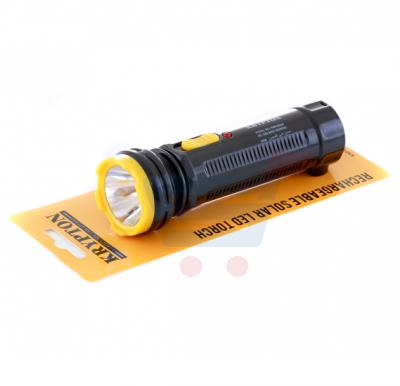 Krypton Rechargeable Solar LED Torch KNFL5004