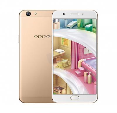 OPPO F1S 4G Smartphone, Android OS, 5.5 Inch Display, Dual SIM, Dual Camera, 3GB RAM, 32GB Storage - Gold (Refurbished)