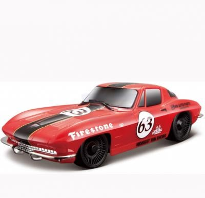 Maisto Tech R/C 1:24 1963 Corvette without Batteries Red - 81078