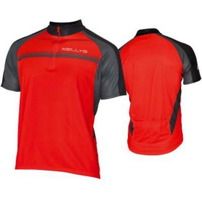 Kellys Short Sleeve Jersey Pro Sport Red, Small Size