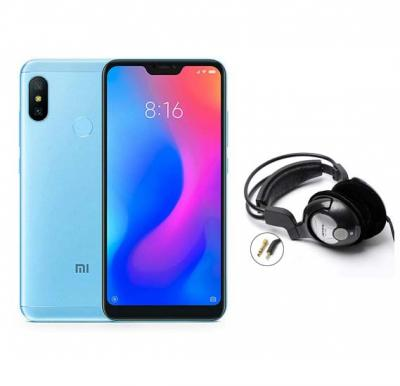 2 in 1 Bundle Offer Xiaomi Mi A2 Lite Mobile With Free Bass Head Phones
