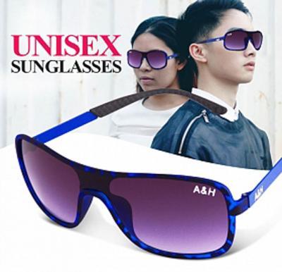 A&H Sunglasses Unisex Blue, AH518