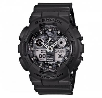 Casio G-shock Digital Analog Watch Black, GA-100CF-8ADR