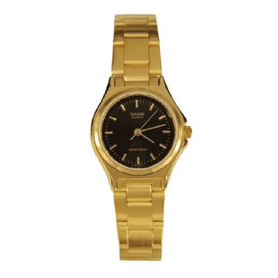 Casio Golden Stainless Steel Ladies Watch, LTP-1130N-1ARDF