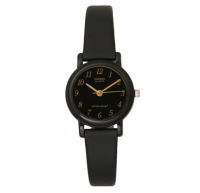 Casio LQ-139AMV-1LDF Analog Black Rubber Strap Womens Watch