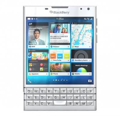 BlackBerry Passport - 32GB, 3GB RAM, 4G LTE, White, Passport White