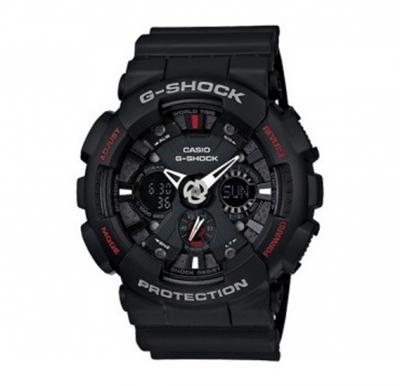 Casio G-Shock Analog-Digital Black Dial Mens Watch-GA-120-1ADR
