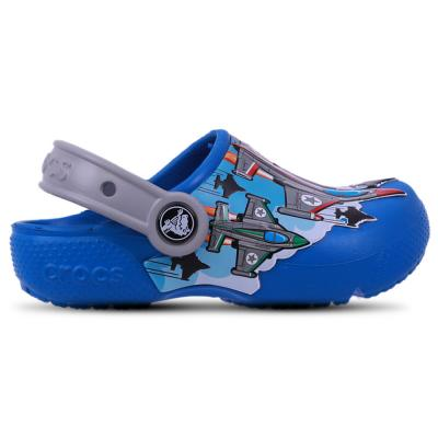 Crocs Kids Clogs Sandals Crocs Fun Lab Fighter Jets Clog