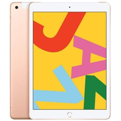Apple iPad-2019 (7th Generation) 10.2inch, 128GB, Wi-Fi, 4G LTE Without FaceTime, Gold