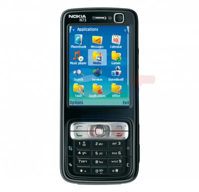 Nokia N73 Symbian Phone, 2.4 Inch TFT Display, Bluetooth, Infrared, USB, FM Radio - Black