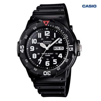 Casio MRW-200H-1BVDF Analog Watch For Men, Black