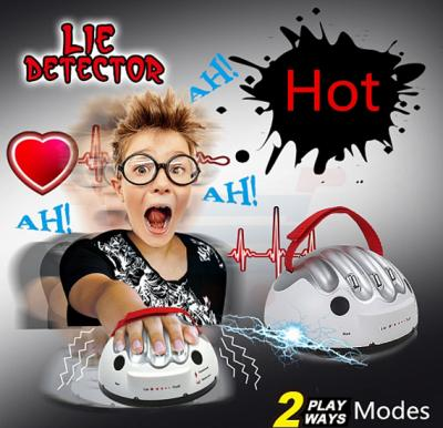 New Tricky Funny 2 Modes Polygraph Adjustable Adult Polygraph Test Electric Shock Lie Detector Dare Game Consoles