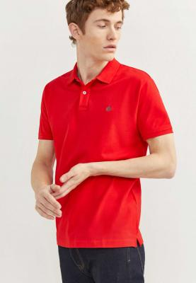 Springfield Polo T-Shirt Basic Slim Fit Red, Size XXL