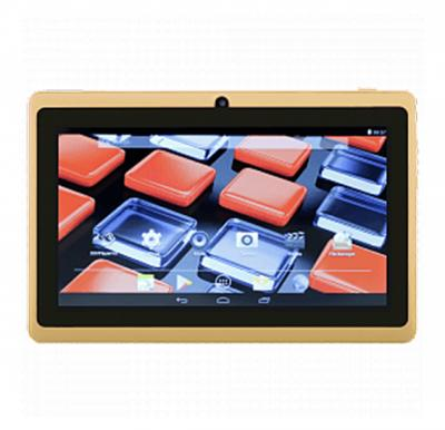 BSNL A1 Tablet 7 inch, Android 4.4.2, 16GB, 2GB DDR3, Wi-Fi, Quad Core, Dual Camera, Gold