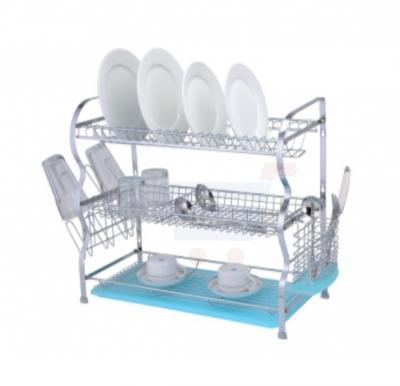 Flamingo Wall Hunging Dish Rack With Tray 3 Layer - FL1304DR