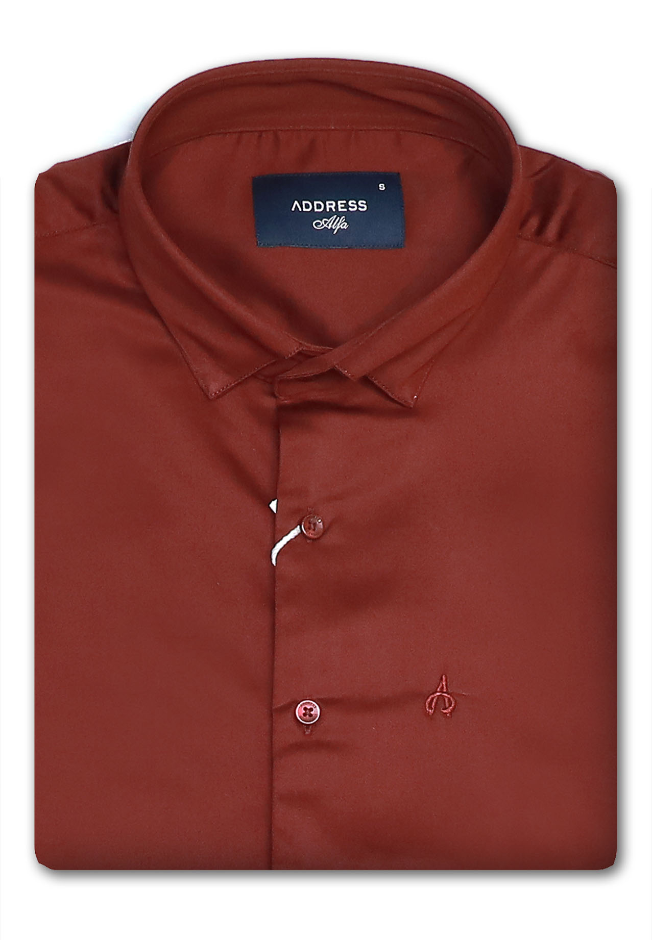Address Formals Shirt Red, Medium