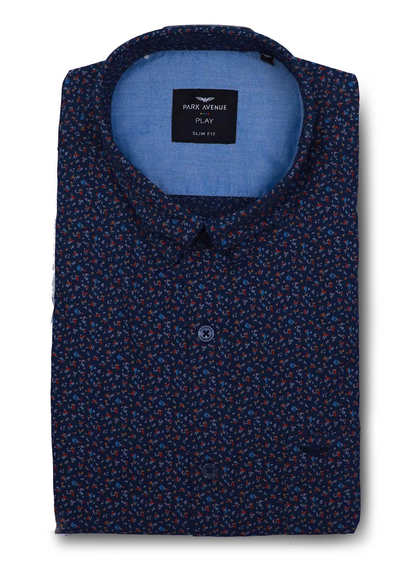 Park Avenue PCSA01886-N4 Mens Shirt, Size 42