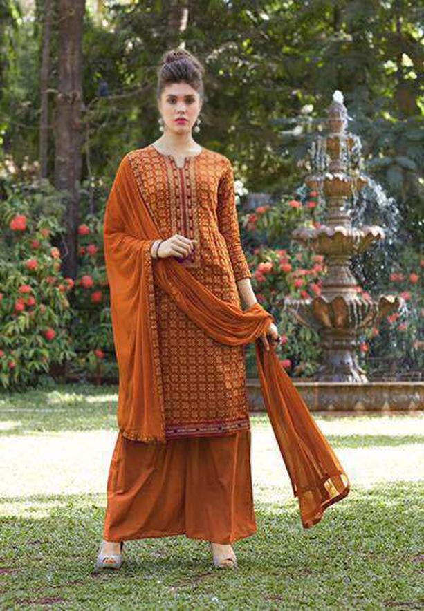 Sanskruti-Blossom 13-30006 Salwar Suit Dress Material - Deal of The Day