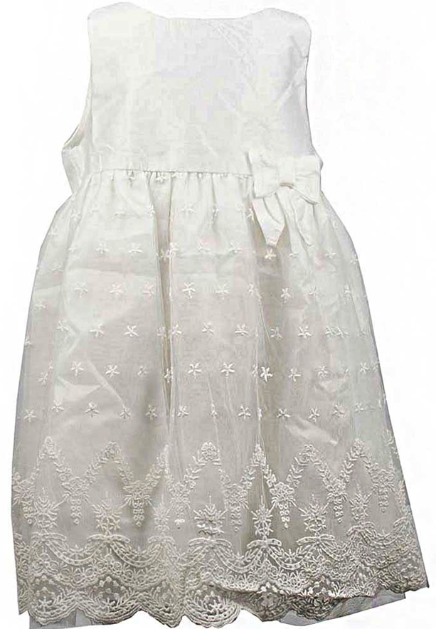 Amigo 7  Children Dress  Pure White - 6-9M - 1222B
