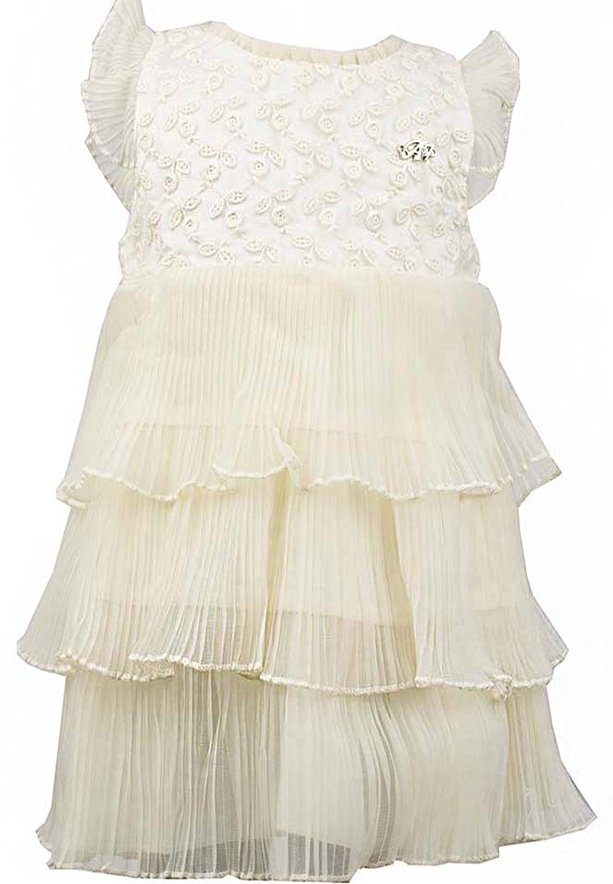 Amigo 7  Children Dress  Beige - 6-9M - 1252