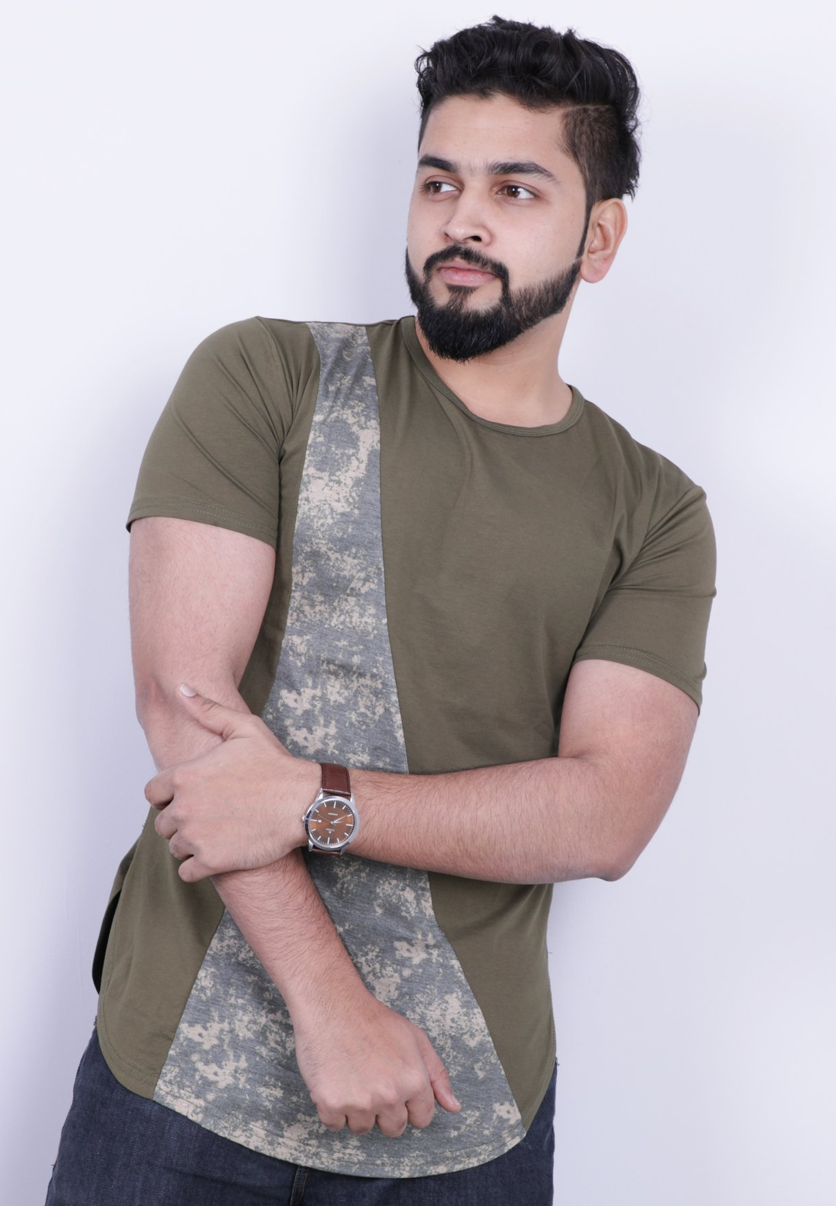Nansa Mens Tshirt Green - NAABF15514X - M