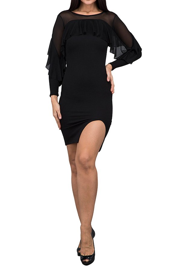 TFNC London Hailey Formal Dress Black - ANT 46470 - L