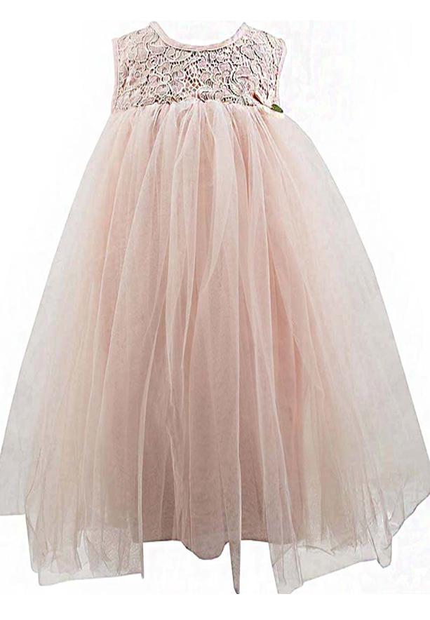 Amigo 7 Children Dress Pink -6-9M - 1162