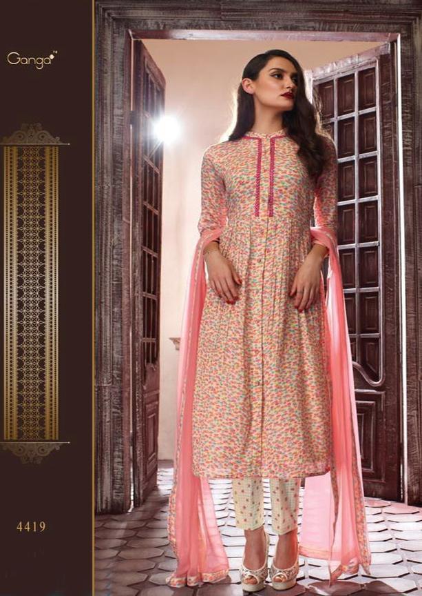 Ganga Guzarish Salwar Suit Dress Material, 4419
