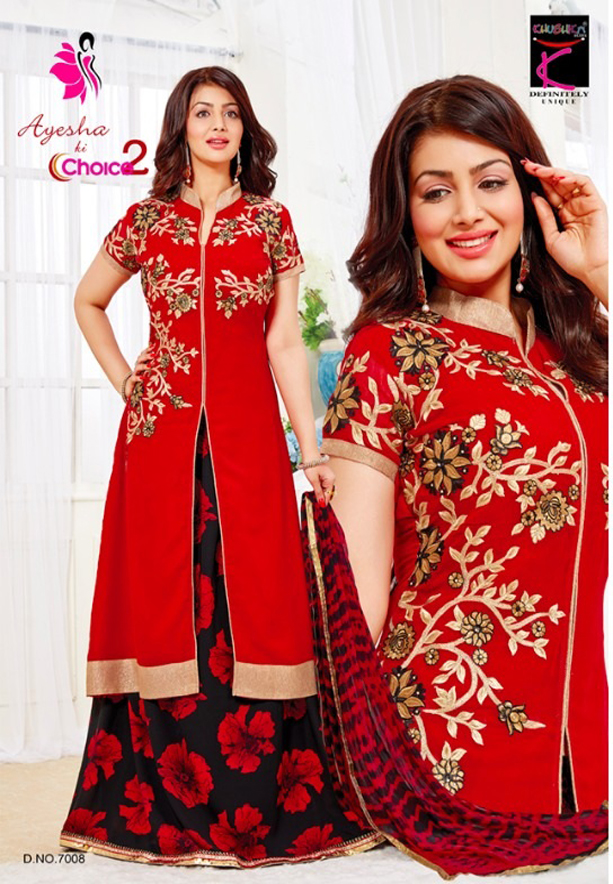 Khushika Ayesha ki choice 7008, Salwar Suit Dress Material