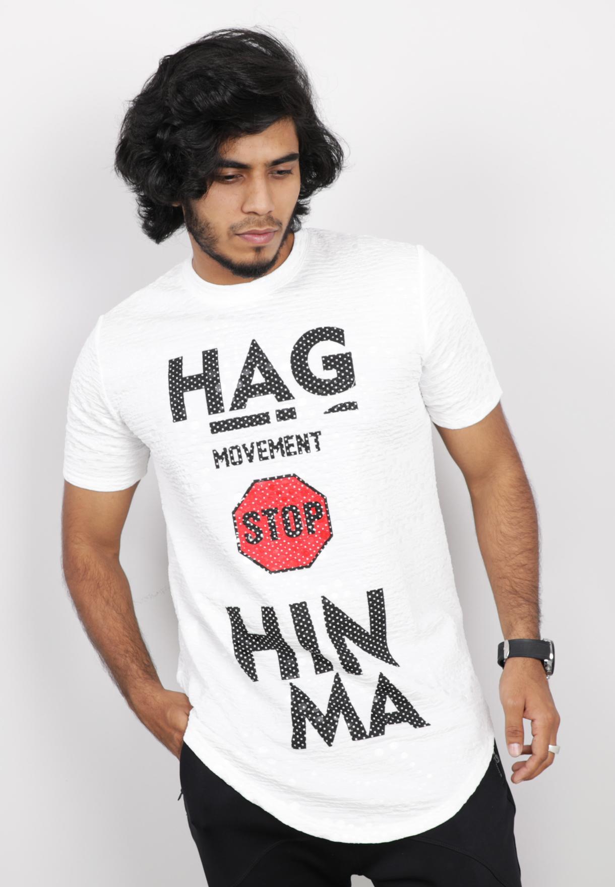 Nansa Mens Tshirt White - NAABF15612X - M