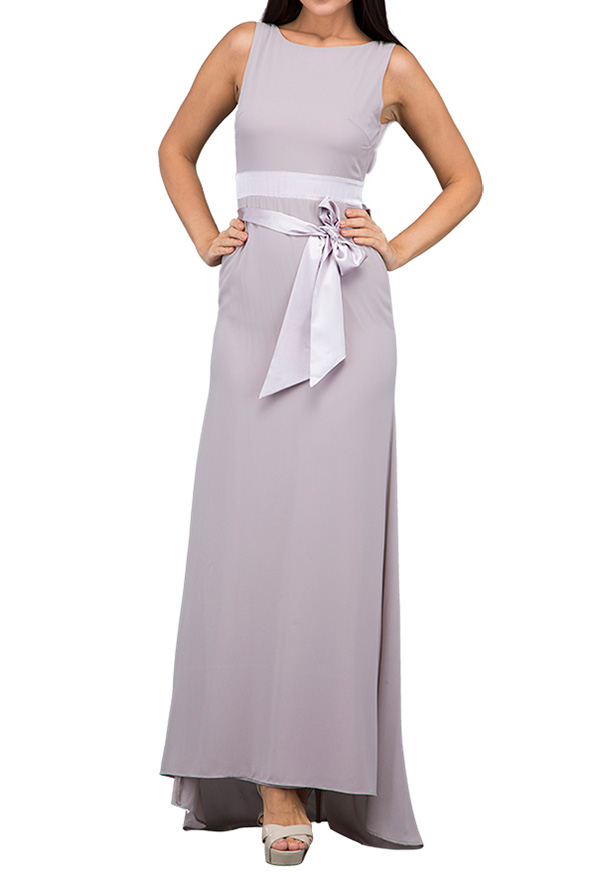 TFNC London Hannah Maxi Evening Dress Pale Mauve - TNV 572870 - XL