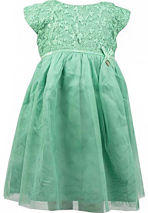 Amigo 7  Children Dress  Green - 6-9M - 1222B