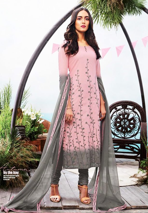 Ganga Autumn Stylish Superior Cotton Printed Salwar Kameez - GA6331