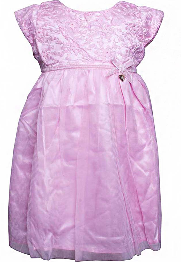 Amigo 7  Children Dress  Pink - 6-9M - 1222B