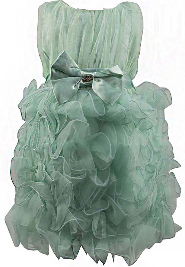 Amigo 7  Children Dress  Light Green - 6-9M - 1301