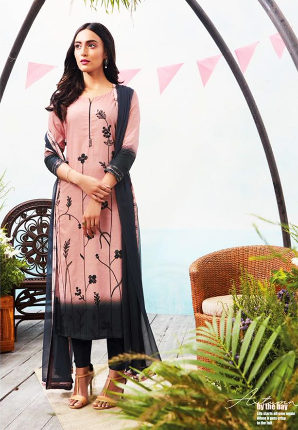 Ganga Autumn Stylish Superior Cotton Printed Salwar Kameez - GA6325