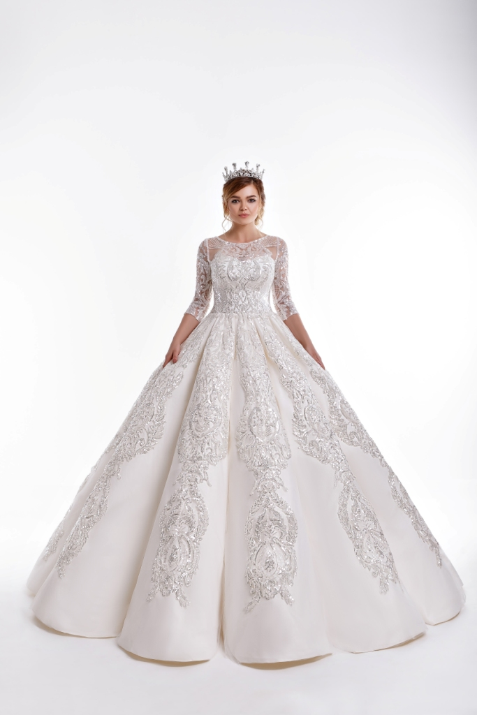 e6d1bbe4ae10 Buy D & D Pink Colour Maxi Type Prom Wedding Dress - 17119 - L - 38 Online  Dubai, UAE | OurShopee.com 32047