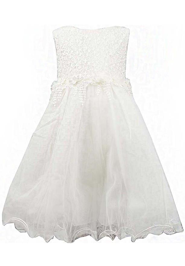 Amigo 7  Children Dress  White - 6-9M - 1307