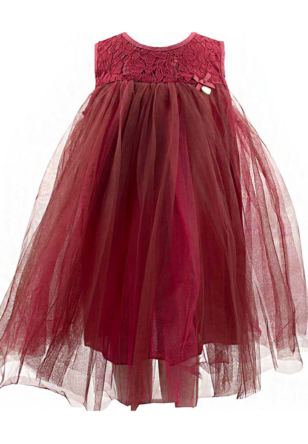 Amigo 7  Children Dress  Red - 6-9M