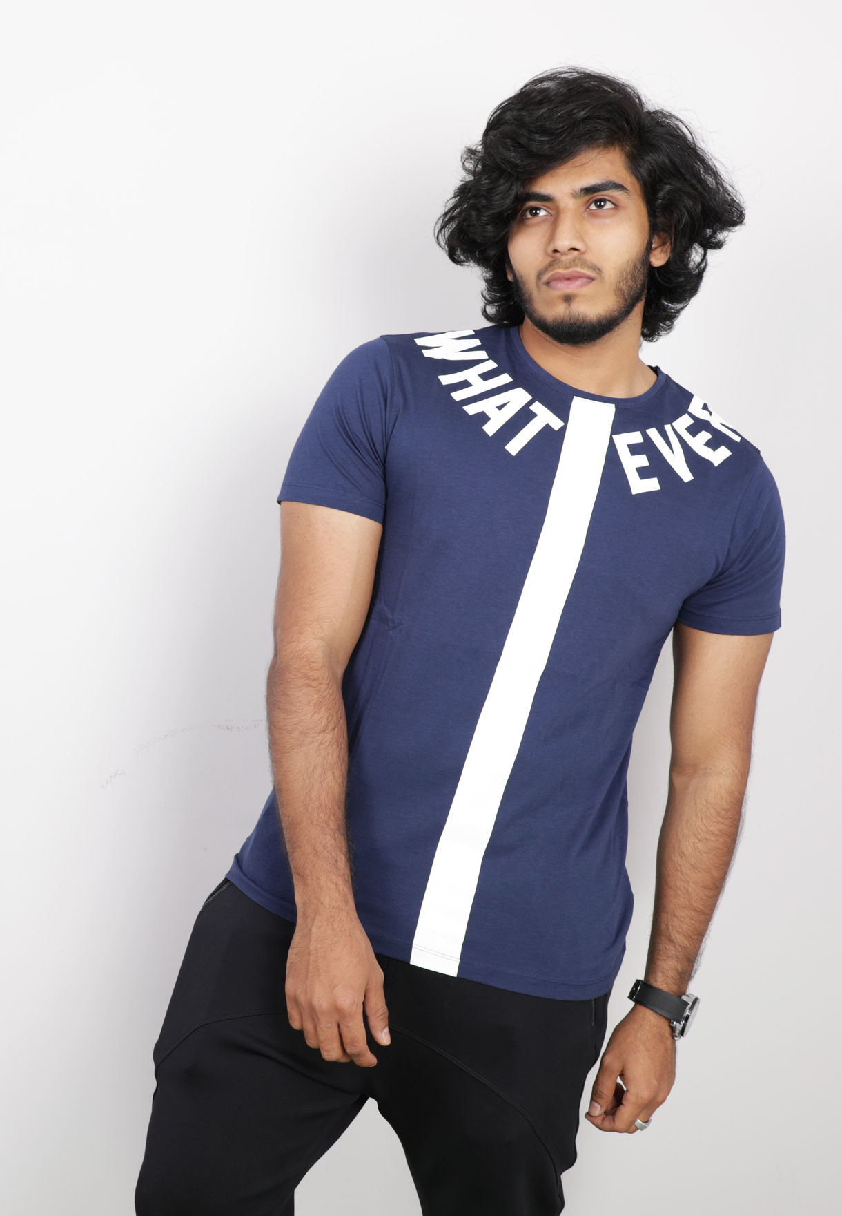UN Lock Mens Tshirt Blue - ST8653 - L