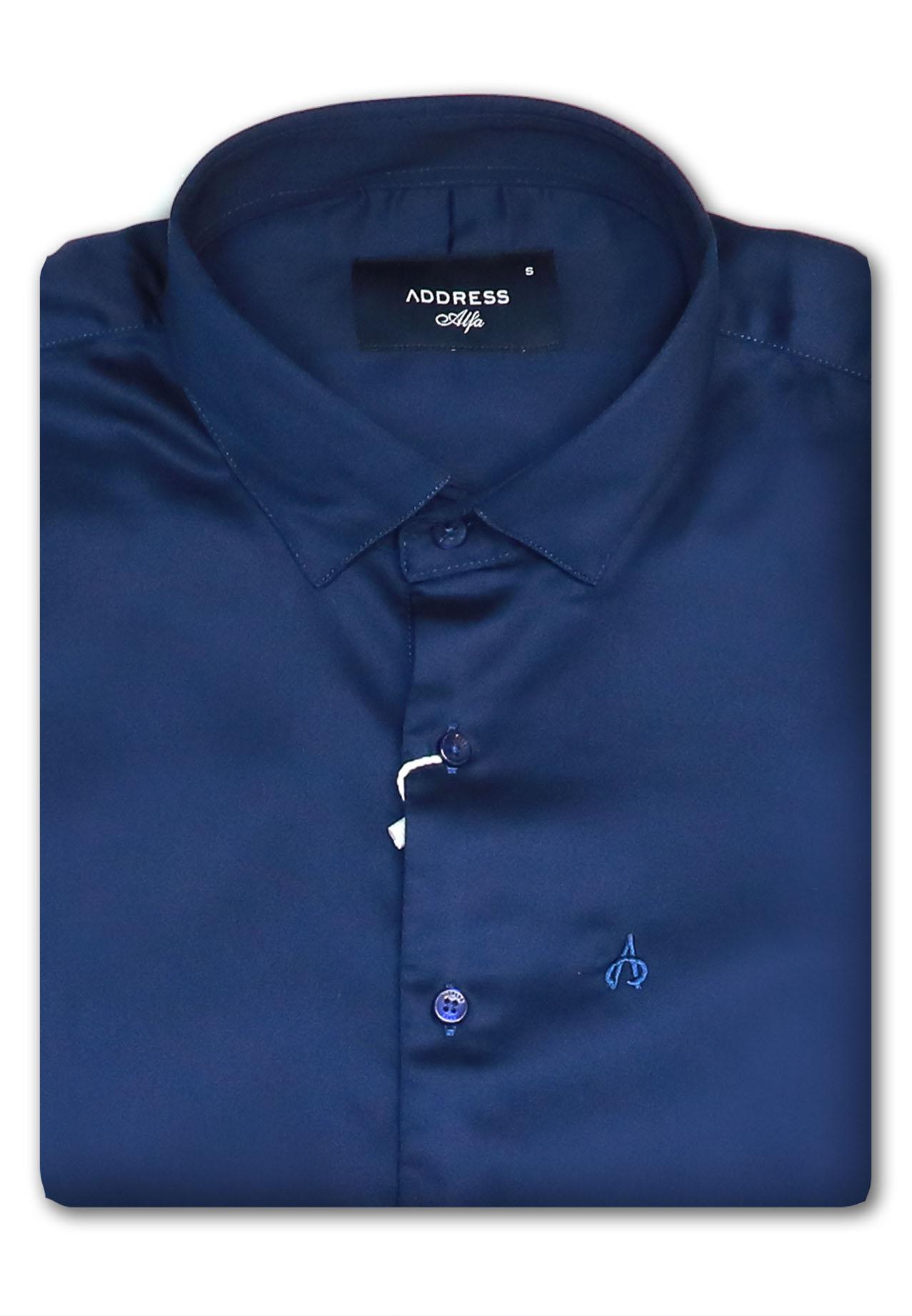 Address Formals Shirt Blue, Large