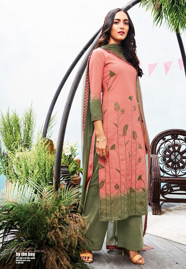 Ganga Autumn Stylish Superior Cotton Printed Salwar Kameez - GA6330
