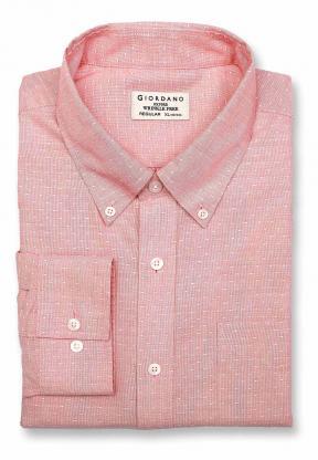 Giordano 01049009 Mens Shirt Long Sleeve
