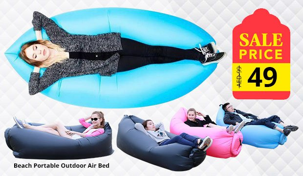 Beach Portable Outdoor Air Bed Inflatable Hammock Sleeping Bag