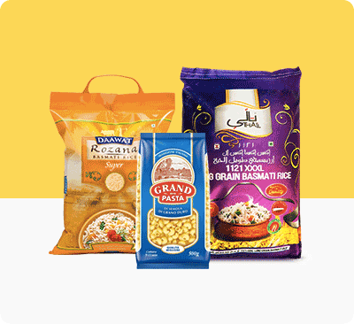 Rice, Pasta & Pulses